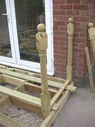 Fitting Banisters Fitting Newel Posts Decking