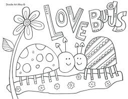 coloring pages printable bugs printable ladybug coloring pages