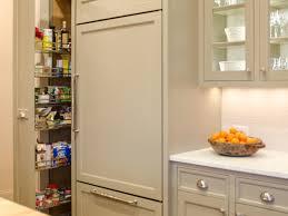 kitchen freestanding larder cupboard tall thin cabinet pantry