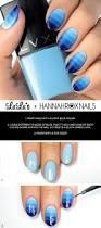 mani monday blue ombre nail tutorial lulus com fashion blog