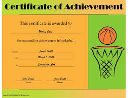 basketball c certificate template 28 images pin mvp award