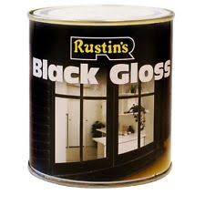 Black Exterior Gloss Paint - exterior wood paint ebay