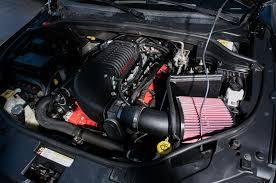 hellcat engine block tuner creates hellcat powered dodge durango