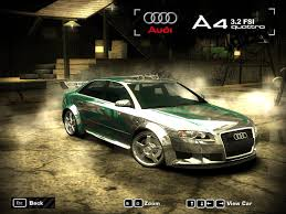2005 Audi A4 Nfs Most Wanted 2005 Audi A4 3 2 Fsi Quattro By 850i On Deviantart