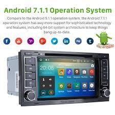 2002 2011 vw volkswagen touareg android 7 1 1 radio gps dvd player