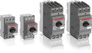 manual motor starter motor protection and abb