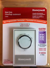 honeywell aube th209 non programmable electronic thermostat triac