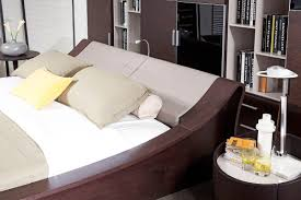 Platform Bed With Lights Geneva Contemporary Platform Bed W Lights Cup Holders And Ipad