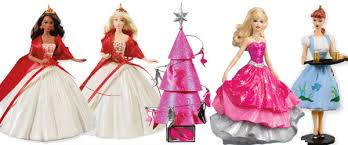 2010 hallmark barbie christmas ornaments vintage barbie and