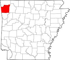Washington County Map File Map Of Arkansas Highlighting Washington County Svg