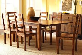 wood living room table solid wood kitchen table and chairs casual dinette design with round