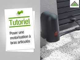 Portail Pas Cher En Pvc by Comment Poser Une Motorisation De Portail Leroy Merlin Youtube