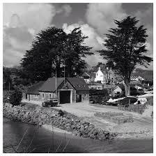 land rover rnli abersoch lifeboat station abersoch llyn gwynedd wales cymru