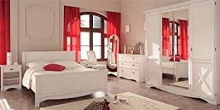chambre en pin chambre adulte complète 140 190 pin blanc gentiane l 140 x l