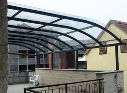 tettoie per terrazze verande a roma su misura in vetro alluminio pvc magifer