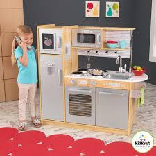 kidkraft kitchen island kidkraft uptown natural play kitchen 53298 hayneedle