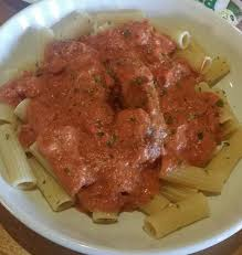 Olive Garden Five Cheese Marinara - day 1 meal 2 super carb me