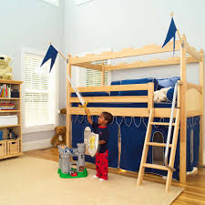 Camelot Castle Low Loft Bed By Maxtrix Kids - Maxtrix bunk bed