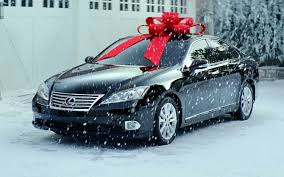 car gift bow where the bows in car commercials come from