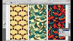 adobe illustrator random pattern how to create half drop and random patterns in multiple color ways
