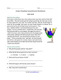 Reading Comprehension Worksheets 4th Grade 2nd Grade Reading Comprehension Worksheets U2013 Wallpapercraft