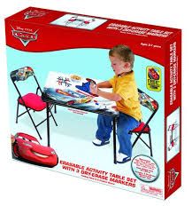 Cars Potty Chair Disney Cars Erasable Activity Table Set With 3 Markers Walmart Com