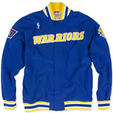 Golden State Warriors Clothing Sale 1996 97 Authentic Warm Up Jacket Golden State Warriors Mitchell