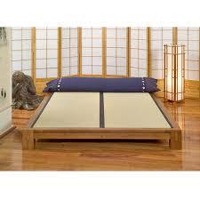 Tatami Platform Bed Frame Tatami Platform Bed Dharmacrafts