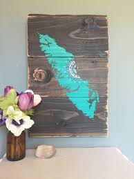 island mandala sun in turquoise reclaimed wood home decor rustic