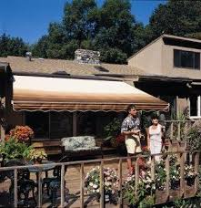 Where Are Sunsetter Awnings Made Amazon Com 14ft Sunsetter Taupe Motorized Awning Patio Awnings