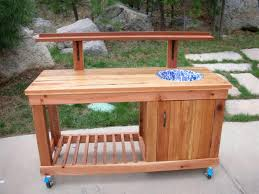 Merry Garden Potting Bench by Ed U0027s Potting Bench The Wood Whisperer