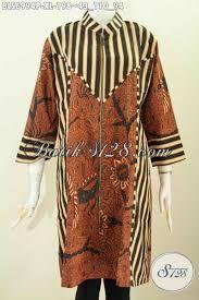 desain baju batik halus baju batik wanita dewasa pakaian batik halus motif slarak klasik