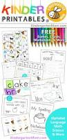 free kindergarten printables language math science and more