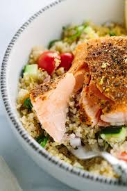 Spices Mediterranean Kitchen Mediterranean Spiced Salmon And Vegetable Quinoa Jessica Gavin
