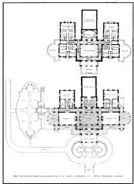 lynnewood hall 2nd floor gilded era mansion floor plans beyond the gilded age elstowe architecture pinterest