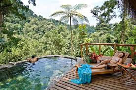 your private pool in the middle of the jungle in costa rica