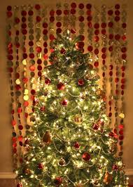 recycled wrapping paper garland tree backdrop hmh designs