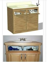 Under Bathroom Sink Storage by Bathroom Under Sink Storage Drawers Pottery Barn Perfect For
