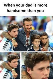 Son Memes - funny memes about handsome dad vs son ft david beckham gap ba gap