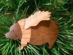 resin flying pig ornament flyingpigs farm
