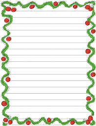 writing paper template 6 best images of christmas writing paper template printable blank christmas writing paper