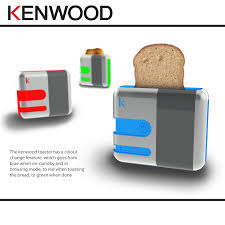 Kenwood Kmix Toaster Blue Food And Drink By Matthew Bland At Coroflot Com