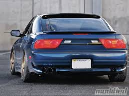 custom supra tail lights 1993 nissan 240sx modified magazine