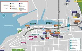 Sea Airport Map Tacoma Link Light Rail Tacoma Free Transportation