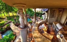 Luxury Backyard Designs John Guild Photography Bridges Gates Arches Fire Towers