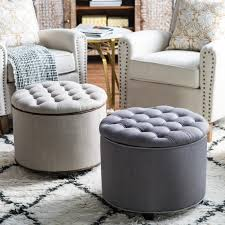 belham living noelle storage ottoman with nailheads hayneedle