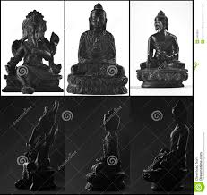 Statues Of Gods by Three Statues Of Gods From Asia Stock Photo Image 50602824