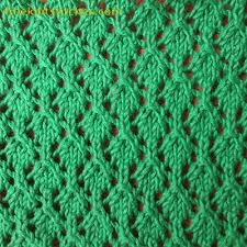eyelets lace knitting stitch patterns free
