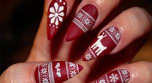 best christmas nails sandra downie