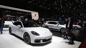 porsche panamera turbo 2017 back porsche panamera turbo s e hybrid is a proper flagship in geneva